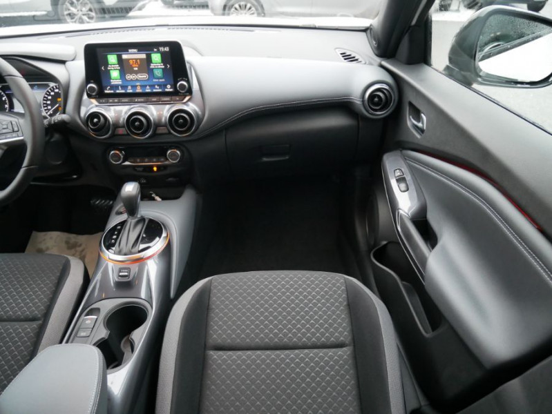 Nissan Juke NEW 1.0 DIG-T 117 DCT N-CONNECTA GPS Full LED Caméra Keyless Blanc occasion à Toulouse - photo n°13