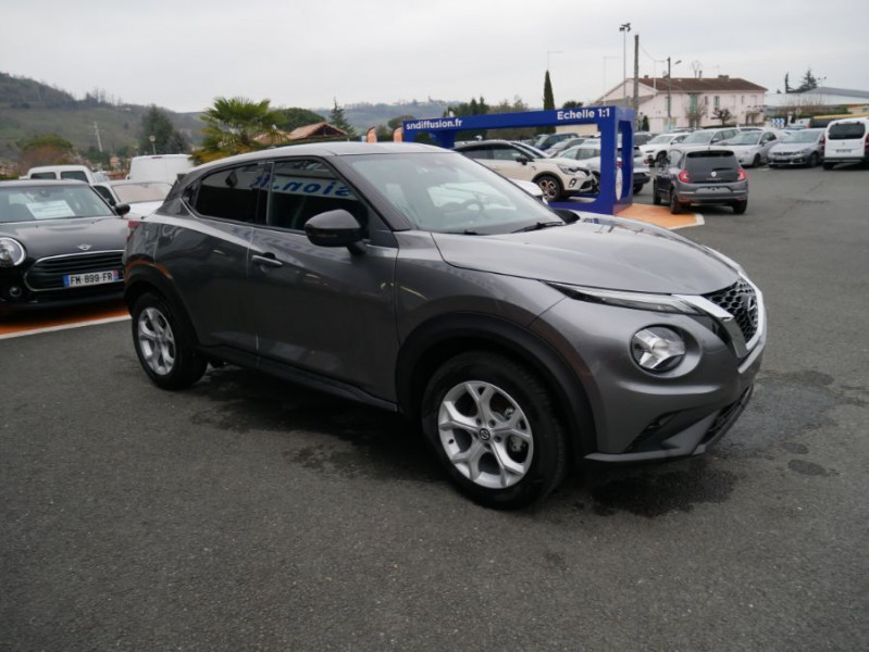 Nissan Juke NEW 1.0 DIG-T 117 DCT N-CONNECTA GPS Full LED Caméra Keyless Gris occasion à Montauban - photo n°10