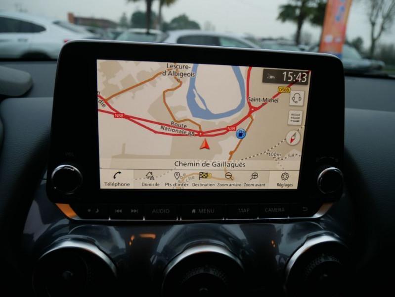 Nissan Juke NEW 1.0 DIG-T 117 DCT N-CONNECTA GPS Full LED Caméra Keyless Blanc occasion à Cahors - photo n°19