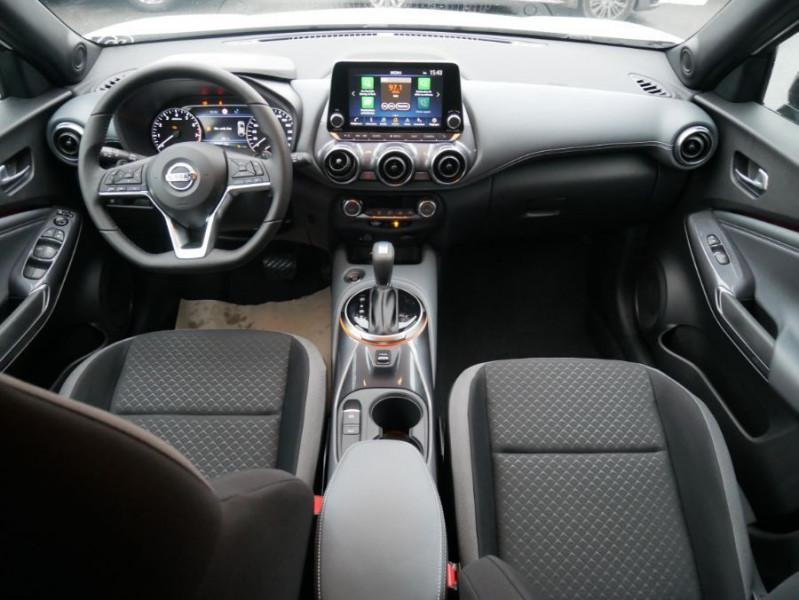 Nissan Juke NEW 1.0 DIG-T 117 DCT N-CONNECTA GPS Full LED Caméra Keyless Blanc occasion à Cahors - photo n°11