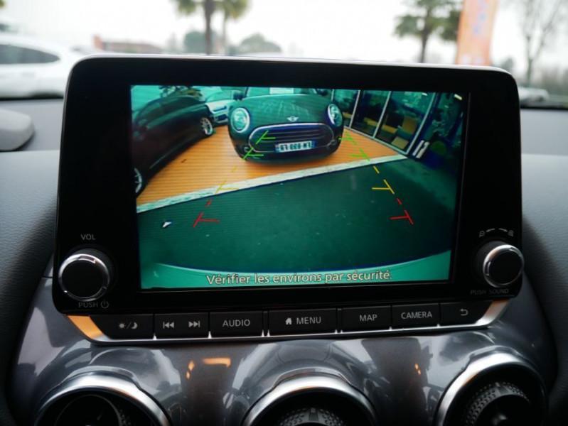 Nissan Juke NEW 1.0 DIG-T 117 DCT N-CONNECTA GPS Full LED Caméra Keyless Blanc occasion à Cahors - photo n°20