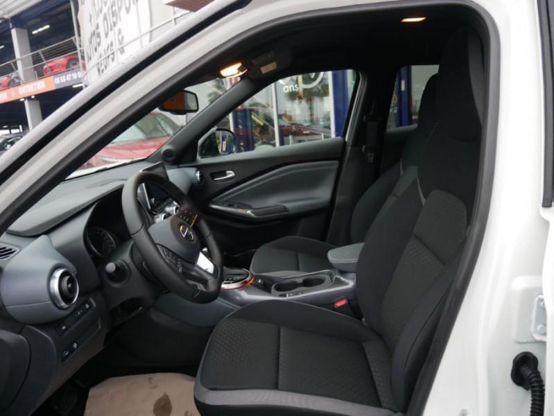 Nissan Juke NEW 1.0 DIG-T 117 DCT N-CONNECTA GPS Full LED Caméra Keyless Blanc occasion à Cahors - photo n°3