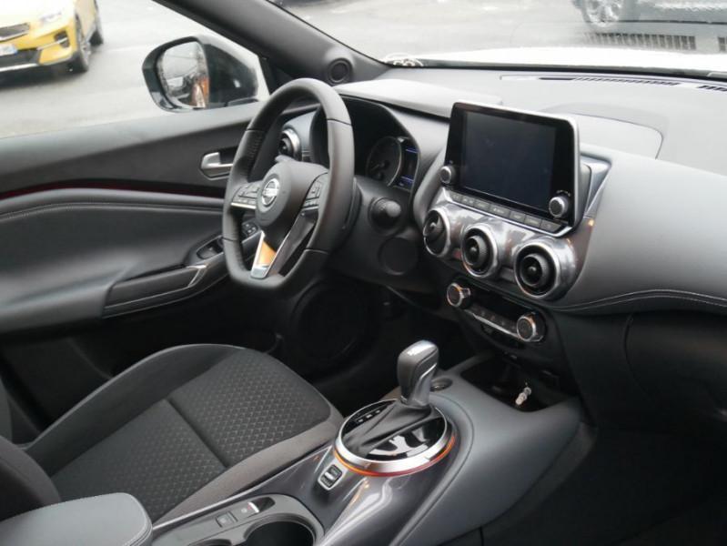 Nissan Juke NEW 1.0 DIG-T 117 DCT N-CONNECTA GPS Full LED Caméra Keyless Blanc occasion à Cahors - photo n°8
