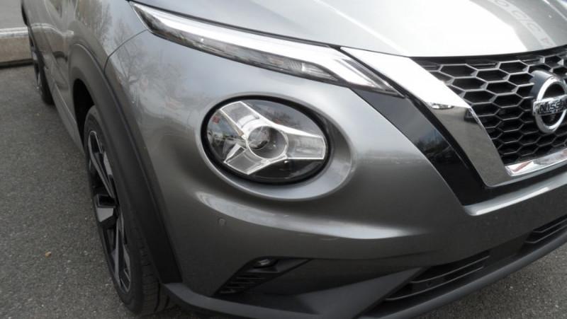 Nissan Juke NEW 1.0 DIG-T 117 DCT TEKNA JA19 GPS Full LED Caméra 360° Ke Gris occasion à Toulouse - photo n°7