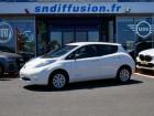 Nissan Leaf 109 30KWH ACENTA AUTO GPS Blanc à Lescure-d'Albigeois 81