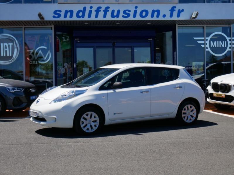 Nissan Leaf 109 30KWH ACENTA AUTO GPS Blanc occasion à Lescure-d'Albigeois
