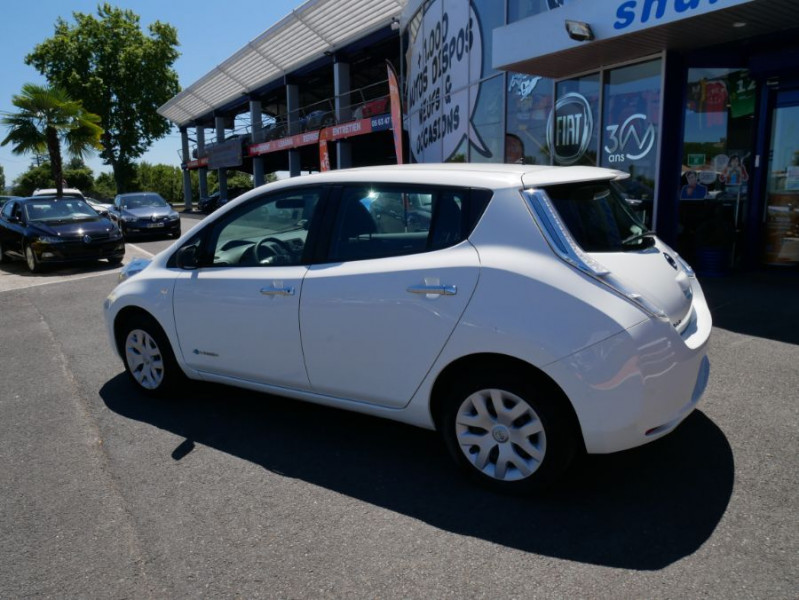Nissan Leaf 109 30KWH ACENTA AUTO GPS Blanc occasion à Lescure-d'Albigeois - photo n°4