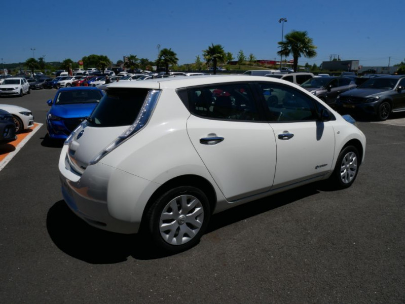 Nissan Leaf 109 30KWH ACENTA AUTO GPS Blanc occasion à Lescure-d'Albigeois - photo n°2