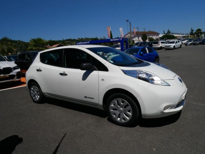 Nissan Leaf 109 30KWH ACENTA AUTO GPS Blanc occasion à Lescure-d'Albigeois - photo n°8