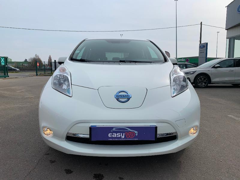 Nissan Leaf 109ch 24kWh Acenta Blanc occasion à Olivet - photo n°2