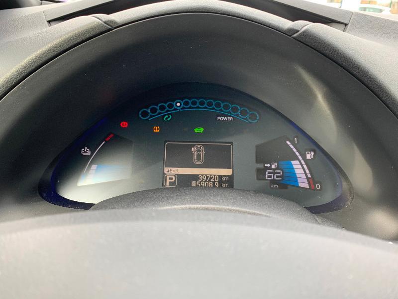 Nissan Leaf 109ch 24kWh Acenta Blanc occasion à Olivet - photo n°9