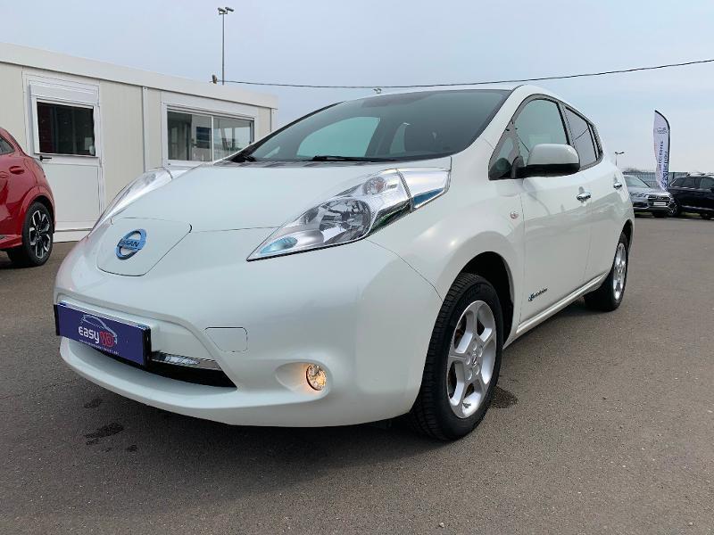Nissan Leaf 109ch 24kWh Acenta Blanc occasion à Olivet - photo n°3