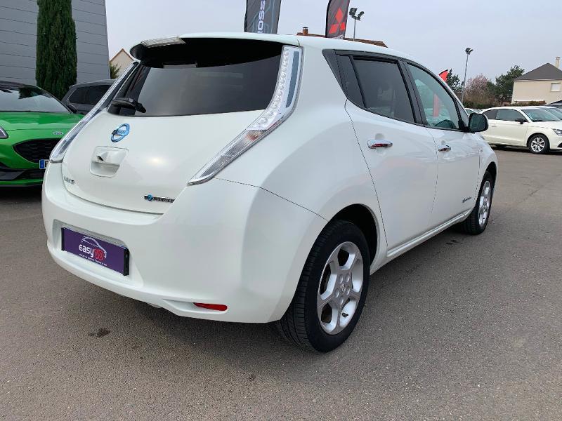 Nissan Leaf 109ch 24kWh Acenta Blanc occasion à Olivet - photo n°6