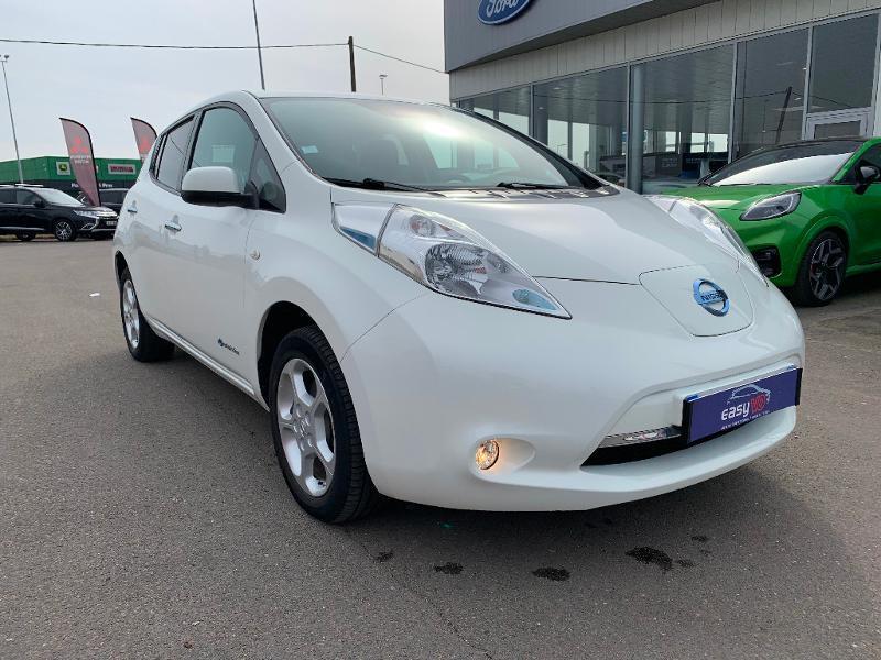 Nissan Leaf 109ch 24kWh Acenta Blanc occasion à Olivet