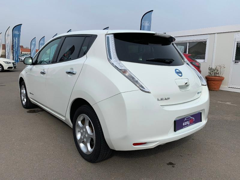 Nissan Leaf 109ch 24kWh Acenta Blanc occasion à Olivet - photo n°4