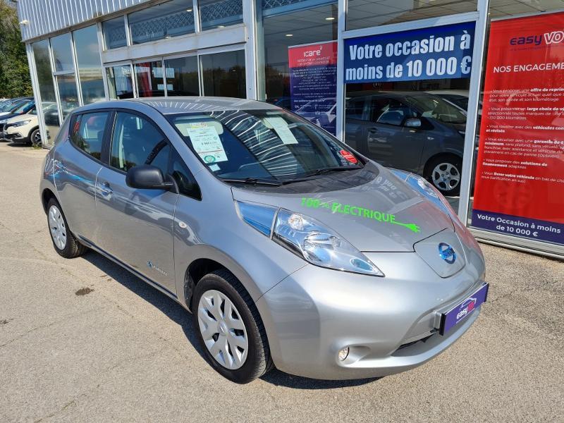 Nissan Leaf 109ch 24kWh Visia Gris occasion à Auxerre