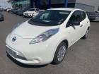 Nissan Leaf 109CH 24KWH VISIA Blanc à Albi 81