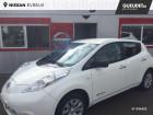 Nissan Leaf 109ch 24kWh Visia Blanc à Évreux 27