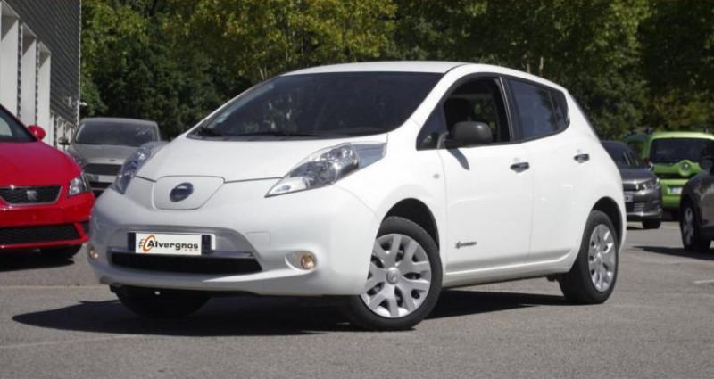 Nissan Leaf 109HP VISIA AUTO Blanc occasion à Chambourcy