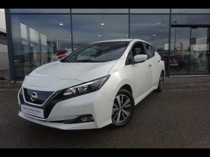 Nissan Leaf 150ch 40kWh Acenta 19.5 Blanc occasion à Rodez