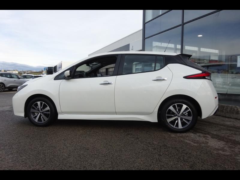 Nissan Leaf 150ch 40kWh Acenta 19.5 Blanc occasion à Rodez - photo n°2