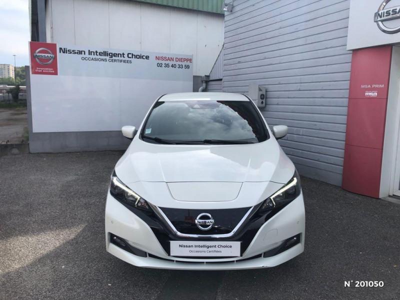 Nissan Leaf 150ch 40kWh Acenta 2018 Blanc occasion à Dieppe - photo n°2