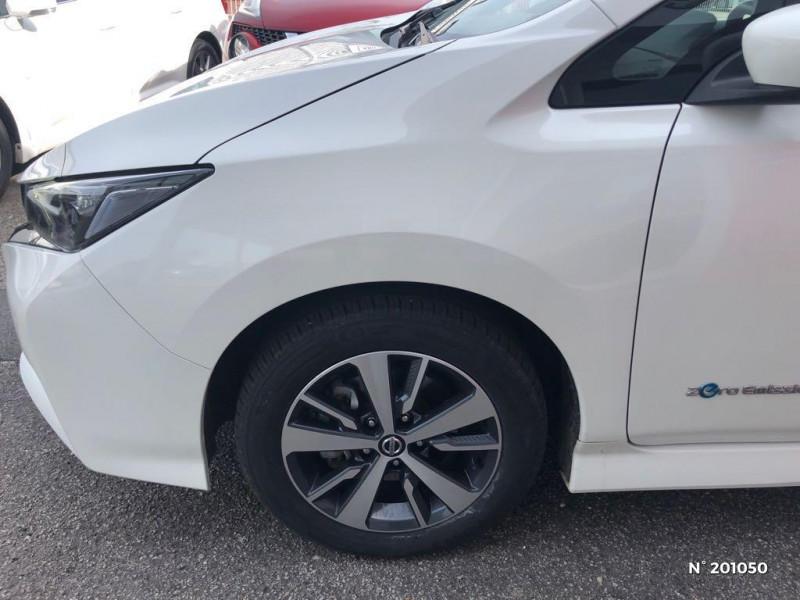 Nissan Leaf 150ch 40kWh Acenta 2018 Blanc occasion à Dieppe - photo n°7