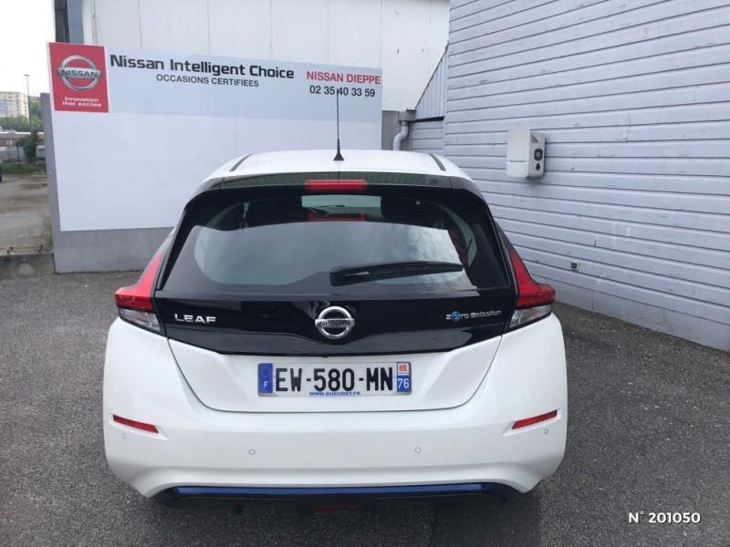 Nissan Leaf 150ch 40kWh Acenta 2018 Blanc occasion à Dieppe - photo n°3