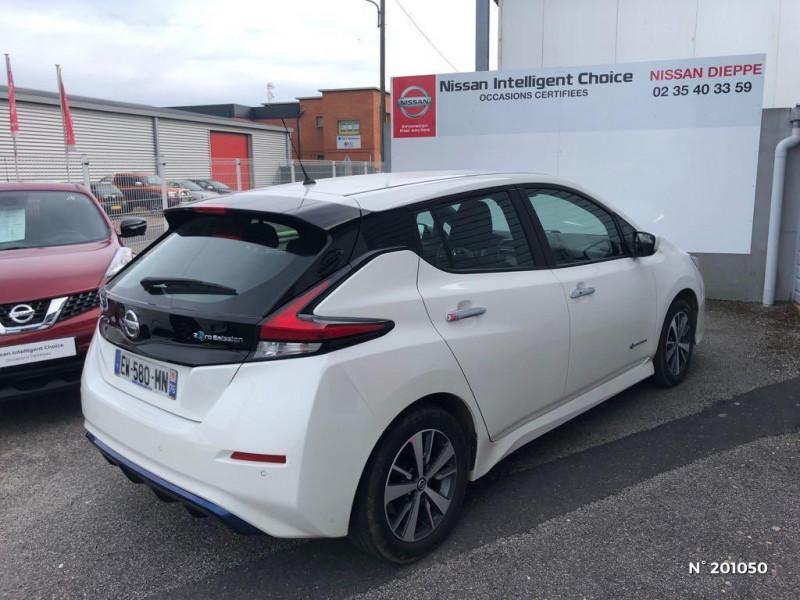 Nissan Leaf 150ch 40kWh Acenta 2018 Blanc occasion à Dieppe - photo n°6