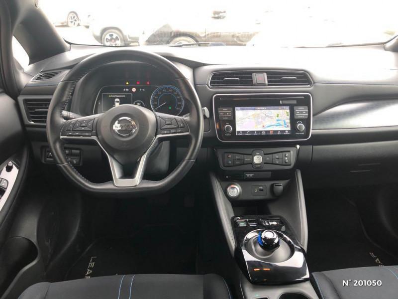 Nissan Leaf 150ch 40kWh Acenta 2018 Blanc occasion à Dieppe - photo n°8