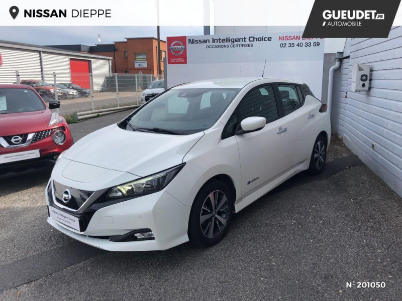 Nissan Leaf 150ch 40kWh Acenta 2018 Blanc occasion à Dieppe