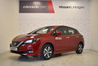 Nissan Leaf 150ch 40kWh Acenta 21 Rouge à LIMOGES 87