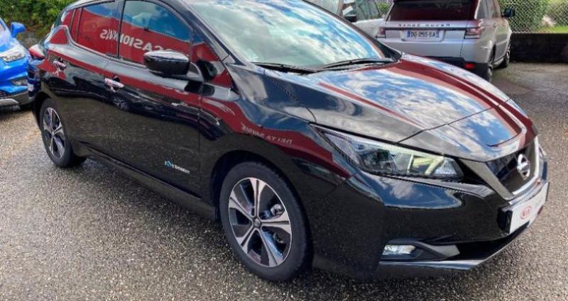 Nissan Leaf 150ch 40kWh N-Connecta 2018 Noir occasion à LA RAVOIRE - photo n°2