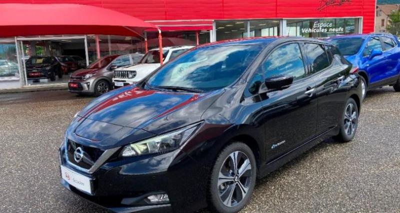 Nissan Leaf 150ch 40kWh N-Connecta 2018 Noir occasion à LA RAVOIRE
