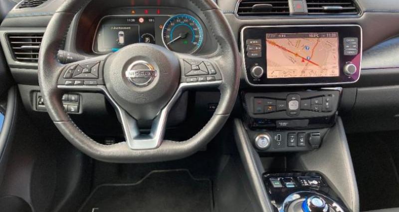 Nissan Leaf 150ch 40kWh N-Connecta 2018 Noir occasion à LA RAVOIRE - photo n°7