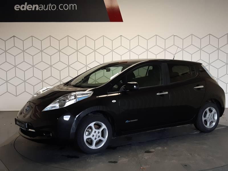 Nissan Leaf 2017 Electrique 30kWh Acenta Noir occasion à Tarbes - photo n°2