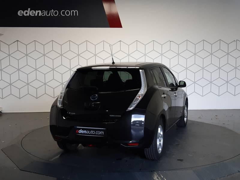 Nissan Leaf 2017 Electrique 30kWh Acenta Noir occasion à Tarbes - photo n°3