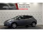 Nissan Leaf 2017 Electrique 30kWh Acenta Gris à Lons 64