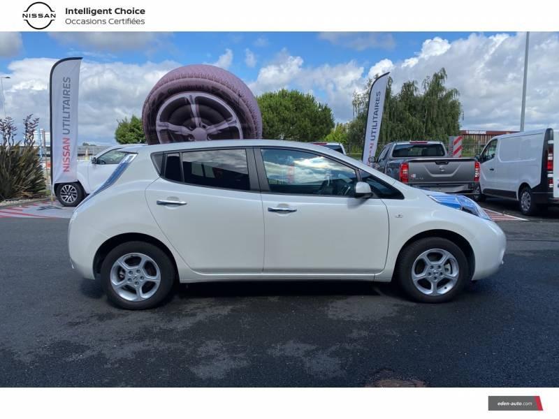 Nissan Leaf 2017 Electrique 30kWh Acenta Blanc occasion à Chauray - photo n°8