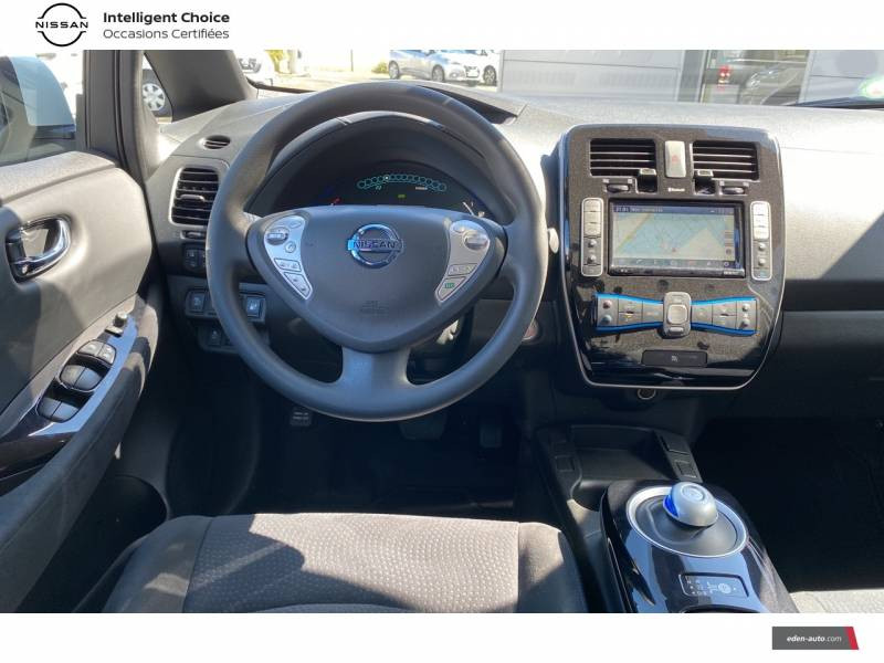 Nissan Leaf 2017 Electrique 30kWh Acenta Blanc occasion à Chauray - photo n°10