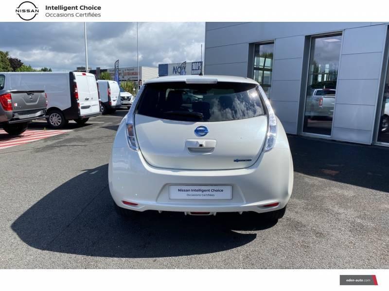 Nissan Leaf 2017 Electrique 30kWh Acenta Blanc occasion à Chauray - photo n°4