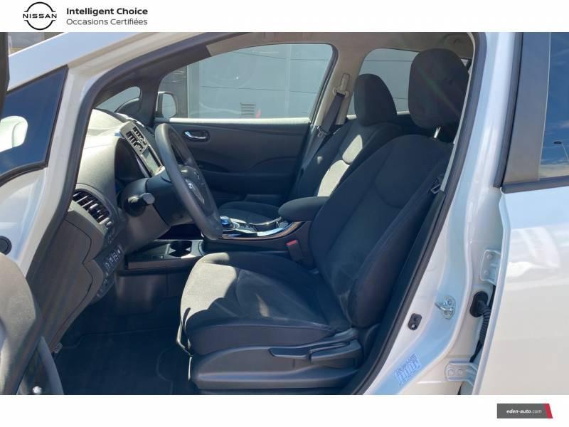 Nissan Leaf 2017 Electrique 30kWh Acenta Blanc occasion à Chauray - photo n°6
