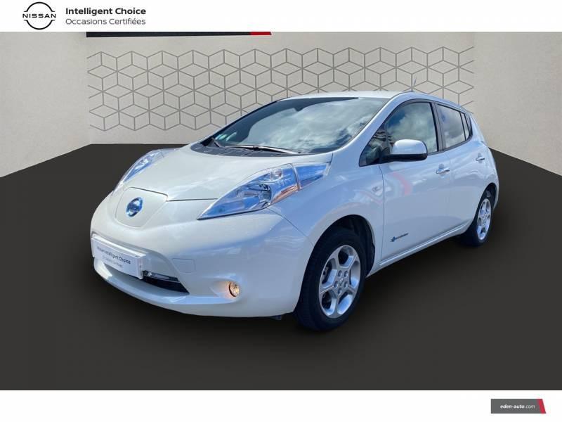 Nissan Leaf 2017 Electrique 30kWh Acenta Blanc occasion à Chauray