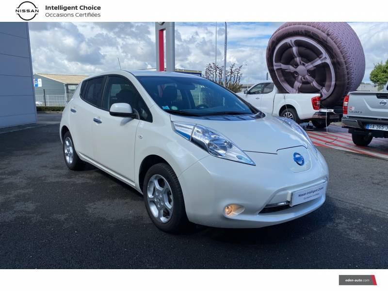 Nissan Leaf 2017 Electrique 30kWh Acenta Blanc occasion à Chauray - photo n°16