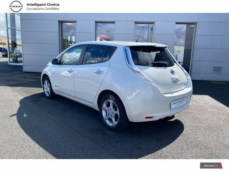 Nissan Leaf 2017 Electrique 30kWh Acenta Blanc occasion à Chauray - photo n°7