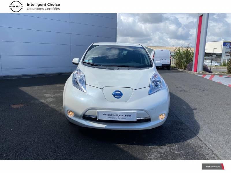 Nissan Leaf 2017 Electrique 30kWh Acenta Blanc occasion à Chauray - photo n°2