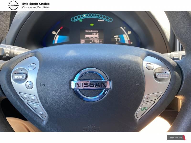 Nissan Leaf 2017 Electrique 30kWh Acenta Blanc occasion à Chauray - photo n°12