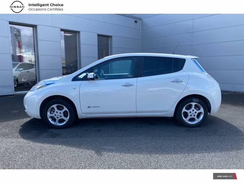 Nissan Leaf 2017 Electrique 30kWh Acenta Blanc occasion à Chauray - photo n°3