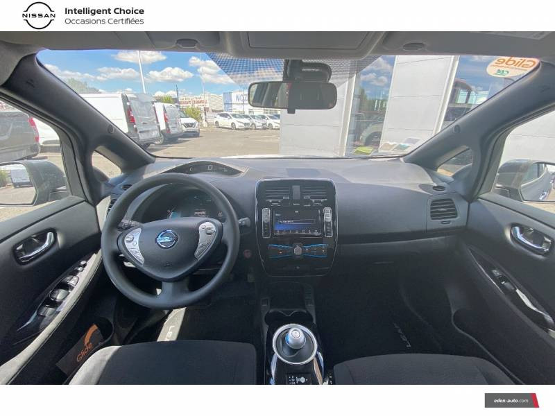 Nissan Leaf 2017 Electrique 30kWh Acenta Gris occasion à Chauray - photo n°9