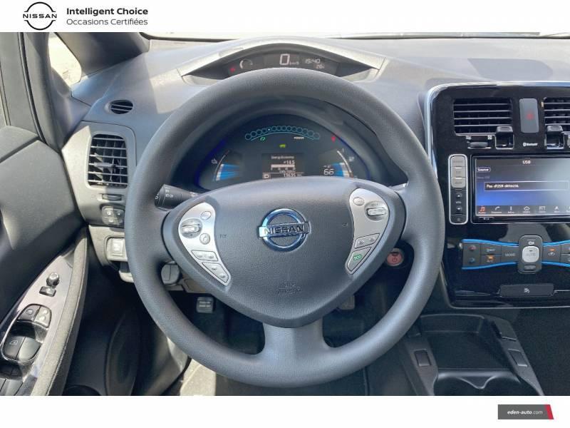 Nissan Leaf 2017 Electrique 30kWh Acenta Gris occasion à Chauray - photo n°10